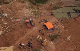 Khai thác cát lậu ở Bình Thuận xuất hiện nhiều thủ đoạn mới