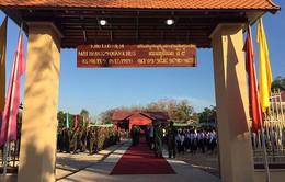 Việt Nam - Campuchia khánh thành Khu lưu niệm Bộ Tư lệnh Mặt trận 579