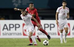 Asian Cup 2019: Thi đấu hơn người, ĐT Syria vẫn chỉ có được 1 điểm trước ĐT Palestine