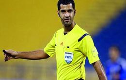 Trọng tài bắt chính trận ĐT Việt Nam - ĐT Iraq là người quen tại AFF Cup