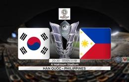 VIDEO Highlight Asian Cup 2019: ĐT Hàn Quốc 1-0 ĐT Philippines (Bảng C)