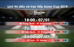 Lịch thi đấu và trực tiếp Asian Cup 2019 ngày 07/01: ĐT Philippines xuất trận, ĐT Iran so tài ĐT Yemen