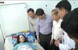 Khẩn trương cấp cứu người bị tai nạn tại đèo Hải Vân
