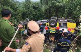 Vụ lật xe khách trên đèo Hải Vân: Xem xét khởi tố vụ án