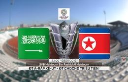 VIDEO Highlights Asian Cup 2019: ĐT Ả-Rập Xê-Út 4-0 ĐT CHDCND Triều Tiên (Bảng E)