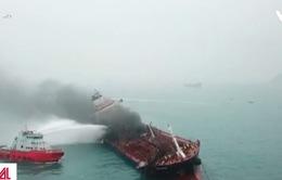 Vụ cháy tàu Việt Nam ở Trung Quốc: Phải mất nhiều ngày mới dập tắt được đám cháy