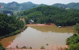 Nguy cơ mất an toàn hồ chứa bùn thải mỏ sắt Đại Khai