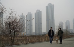 Các thành phố châu Á chìm trong khói bụi ô nhiễm