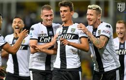 Parma giành chiến thắng kịch tính trước Torino