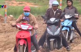 Mối nguy từ các công trình giao thông miền núi trong mùa mưa