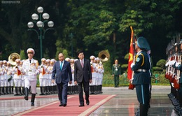 Thủ tướng Lào thăm chính thức Việt Nam