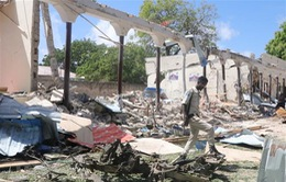 Phiến quân al-Shabaab tấn công căn cứ quân sự Mỹ tại Somalia