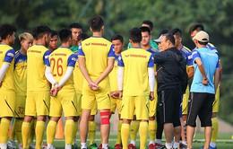 Lo lắng về chấn thương, thầy Park cho U22 Việt Nam tập nhẹ