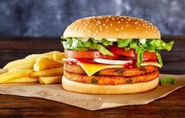 Australia phát triển bánh burger thuần chay