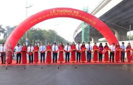 Hà Nội thông xe đường vành đai 3 đoạn Mai Dịch - cầu Thăng Long