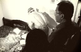 Cảm động một gia đình có con trai hiến tạng, cha hiến giác mạc