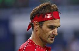 """Roger Federer """"ám ảnh"""" bởi tiếng thở dài ở Thượng Hải"""