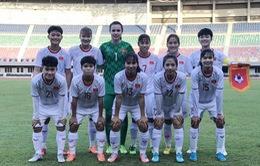 U19 nữ Việt Nam thắng chủ nhà U19 nữ Myanmar ở trận giao hữu đầu tiên