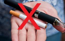 Cấm thuốc lá điện tử nơi công cộng tại Thẩm Quyến