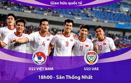 U22 Việt Nam - U22 UAE: Bài test chất lượng! (18h00 ngày 13/10)