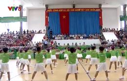 Phú Yên: Hội thi đồng diễn thể dục, võ cổ truyền