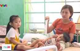 Quá tải bệnh nhi ở bệnh viện Bà Rịa - Vũng Tàu