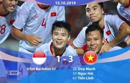 VIDEO Highlights: ĐT Indonesia 1-3 ĐT Việt Nam (Vòng loại World Cup 2022)