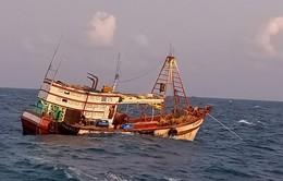 Bà Rịa - Vũng Tàu cứu nạn thành công tàu cá BV 98695 TS