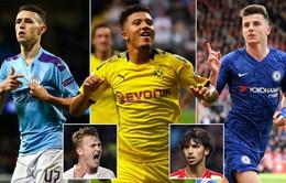 Danh sách rút gọn 20 ứng viên giải Golden Boy 2019: 3 sao người Anh góp mặt