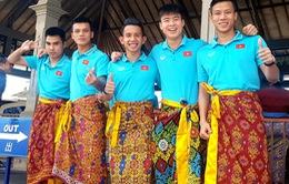 Chiều nay (16/10), ĐT Việt Nam về nước, kết thúc đợt tập trung với 2 trận toàn thắng