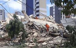 Sập tòa nhà 7 tầng tại Brazil, 2 người thiệt mạng