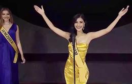 Á hậu Kiều Loan lọt top 6 bình chọn tại Miss Grand International 2019