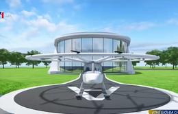 Bắt đầu xây dựng trạm điện dành cho taxi bay đầu tiên