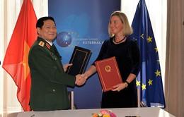 Tăng cường hợp tác quốc phòng Việt Nam - EU