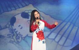 Sao mai Lương Nguyệt Anh hát ca khúc tự sáng tác về quê mẹ nhân dịp 20/10
