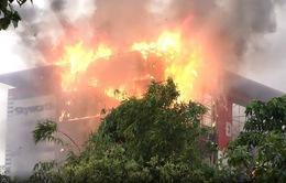 Cháy siêu thị điện máy ở Quảng Bình