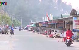 Kinh doanh trái phép trên tuyến đê biển Thiên Cầm
