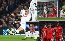 Kết quả UEFA Champions League: Bayern Munich vùi dập Tottenham với tỉ số 7-2