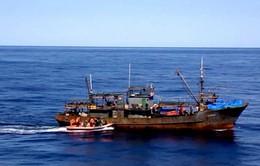 Nga ngăn tàu cá Triều Tiên đánh bắt trái phép
