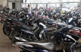 Thị trường xe máy mới liên tục giảm
