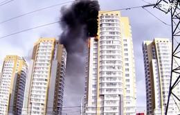 Cháy chung cư tại Nga, 5 trẻ em thiệt mạng