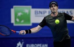 Andy Murray vào chung kết giải quần vợt Antwerp mở rộng 2019