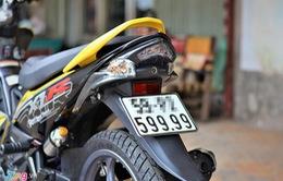 Xe máy cũ mang biển số đẹp được rao bán hàng trăm triệu đồng