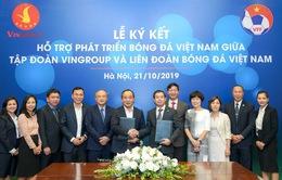VinGroup và VFF ký thỏa thuận hợp tác chiến lược hỗ trợ phát triển bóng đá Việt Nam