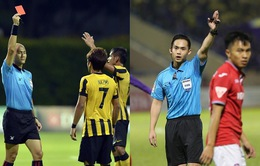 Hai trọng tài người Singapore điều khiển ở vòng 26 V.League 2019