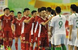 ĐT Indonesia đại thắng, ĐT futsal Việt Nam nhận vé vào bán kết giải Futsal Đông Nam Á 2019