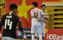 Phá dớp trước Malaysia, ĐT futsal Việt Nam gặp ĐKVĐ Thái Lan ở bán kết