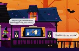Google cập nhật sự kiện Halloween cho loa thông minh Nest