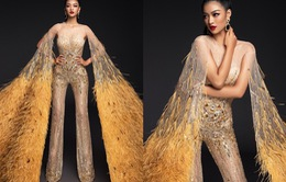 Vừa lọt Top 10 bình chọn quốc phục, Kiều Loan khoe ngay bộ cánh thi Bán kết Miss Grand International 2019