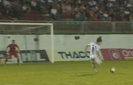 VIDEO: Bàn thắng siêu đẹp mắt của Minh Vương vào lưới S.Khánh Hòa BVN